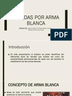 Heridas Por arma blanca.pptx