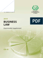 CAF3-BusinessLaw-ExamSupplement
