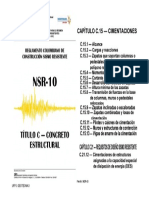 Cimentaciones Nsr 10 1
