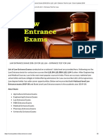 Law Entrance Exams 2019-20 for LLB, LLM - Entrance Test for Law - Exam Updates 2019