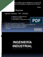 Ingeniería Industrial_Plática a Futuros Ingenieros