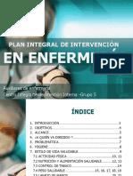 Plan Integral de Intervencion en Enfermerìa