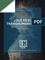 Gayozzo, Piero - Qué Es El Transhumanismo - IET