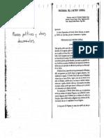 planes políticos y otros documentos