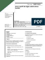 NBR 05020 - Tubos de Cobre Sem Costura Para Uso Geral