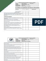 Lista Chequeo Decreto 1072 2015