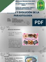 Origen u Evolucion de La Parasitologìa123[1]
