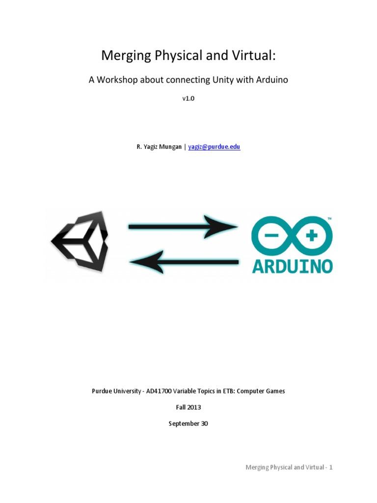 Unity Arduino | String (Computer Science) | Arduino