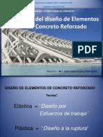 Elementos de Concreto Reforzado UVM Julio 2018