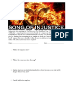Song of Injustice