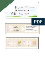 Actividades Cuaderno Lenguaje Silabas CA.co,Cu,Que ,Qui