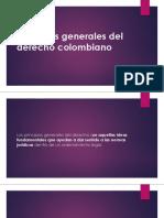 Principios Generales Del Derecho Colombiano