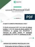 Aula 1 - Processo Civil