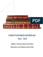 Constituciones Españolas 1812-1978