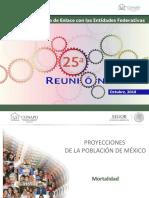 Predicciones de la Población de México