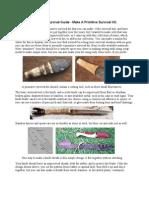 33857711 a Long Term Survival Guide Make a Primitive Survival Kit