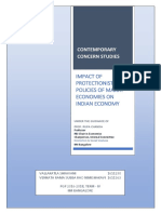 Impact of Protectionist Policies of Major Economies