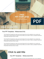 Vintage-Typewriter-on-wooden-table-PowerPoint-Templates-Widescreen.pptx