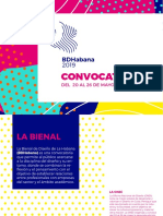 Bases de La Convocatoria BDH2019