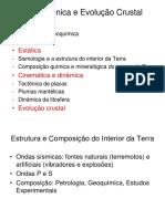 Aula 3 - Estrutura DaTerra