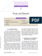 ---- (Chapter 1 - Rocks and Minerals)