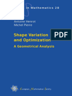 (EMS Tracts in Mathematics) Antoine Henrot, Michel Pierre - Shape Variation and Optimization _ A Geometrical Analysis-Euopean Mathematical Society (2018).pdf