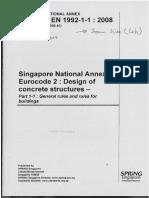 Concrete - Complementary Singapore Standard to SS en 206-1 Part 2