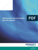 100 Questions Hr Analytics Can Answer