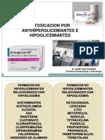13 Intoxicación por Antidiabeticos