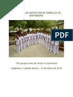 Ceremonia de Imposición de Símbolos de Enfermería