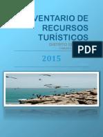 Inventario de Recursos Turísticos Priorizados