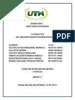Tarea Grupal #1 Mercado Financiero