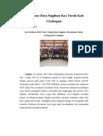Reportase Kkn Tim i Undip Desa Sugihan