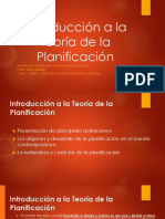 Introducción a La Teoría de La Planificación (2)