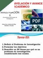 Generalidades Investigacion Cientifica Proyecto y Tesis 1era Clase