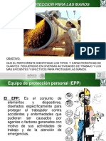 El EPP y La Proteccion de Las Manos-IMSS