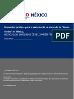"""Propuestas Jurídicas Para La Creación de Un Mercado de """"Bonos Verdes"""
