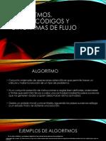 Algoritmos, Pseudocódigos y Diagramas de Flujo
