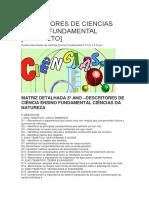 DESCRITORES DE CIENCIAS ENSINO FUNDAMENTAL.docx