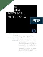 Sesion Dirigida Porteros Futbol Sala
