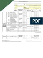 Plan de Evaluación y Seguimiento MEDIO AMBIENTE