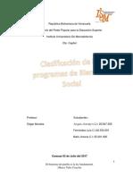 Clasificación de Los Programas de Bienestar Social 2 (2)