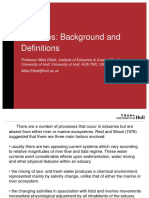 Estuaries Background and Definitions