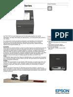 Epson TM T20II Series Datasheet