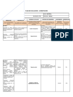 plan de evaluación y acreditación