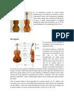 Organologia Del Violonchelo