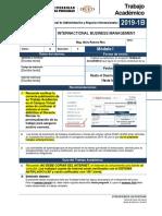 Trabajo Internactional Business Management