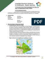 Diagnóstico Situacional de Instituciones Educativas Primarias