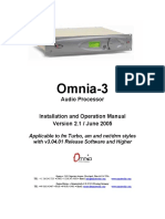 Omnia 3 Turbo 3fm 3am 3net 3drm Manual Version 2.1