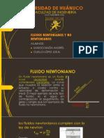 Fluidos Newtonianos y No Newtonianos